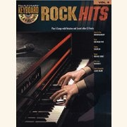 Sheet Music + Playback-CD ROCK HITS \(KEYBOARD\)