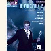 Sheet Music + Playback-CD BIG BAND STANDARDS \(MALE\)