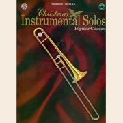 Sheet Music + Playback-CD CHRISTMAS INSTRUMENTAL SOLOS - POP CLASSICS \(TROMBONE\)
