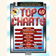 Sheet Music + Playback-CD TOP CHARTS 49