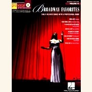 Sheet Music + Playback-CD BROADWAY FAVORITES \(FEMALE\)