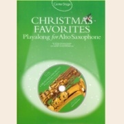 Sheet Music + Playback-CD CHRISTMAS FAVORITES: CENTER STAGE \(ALTO SAX\)