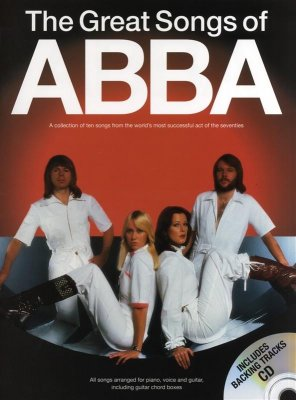 Sheet Music + Playback-CD ABBA - THE GREAT SONGS OF ABBA