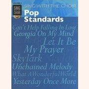 Sheet Music + Playback-CD SING WITH THE CHOIR VOLUME 3: POP STANDARDS