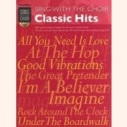 Sheet Music + Playback-CD SING WITH THE CHOIR VOLUME 4: CLASSIC HITS