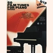 Sheet Music 50 GRADED FILM TUNES FOR PIANO \(EASY PIANO\)