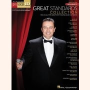 Sheet Music + Playback-CD GREAT STANDARDS COLLECTION \(MEN\'S EDITION\)