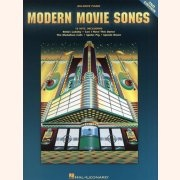 Sheet Music MODERN MOVIE SONGS - 2ND EDITION \(BIG NOTE PIANO\)