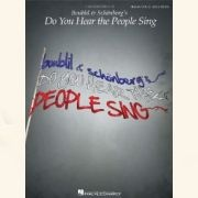 Sheet Music DO YOU HEAR THE PEOPLE SING - BOUBLIL & SCHOENBERG\'S