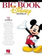 Sheet Music BIG BOOK OF DISNEY SONGS \(VIOLIN\)