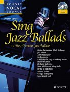Noten + Playback-CD SING JAZZ BALLADS \(Vocal Lounge\)