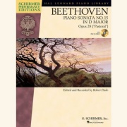 Sheet music BEETHOVEN: PIANO SONATA No.15 In D Op.28 \(+Demo-CD\)
