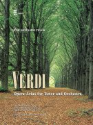 Sheet Music + Playback-CD VERDI - OPERA ARIAS FOR TENOR & ORCHESTRA