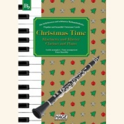Sheet music CHRISTMAS TIME \(clarinett and piano\)