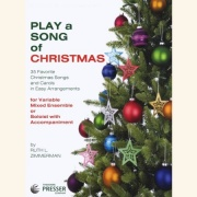 Sheet music PLAY A SONG OF CHRISTMAS \(Violin\)