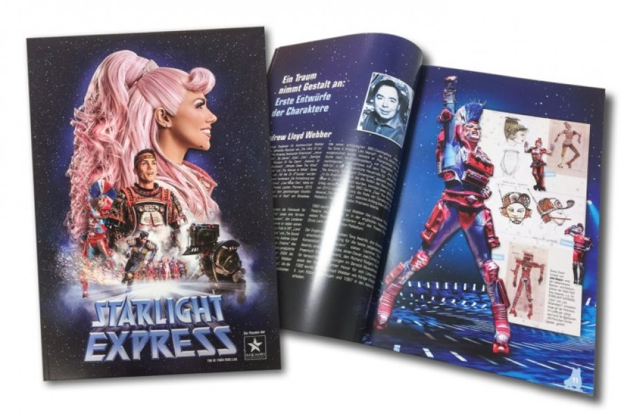 souvenir brochure starlight express bochum 2016 2017 eur 12 00 musical cds dvds. Black Bedroom Furniture Sets. Home Design Ideas