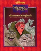 Sheet Music HUNCHBACK OF NOTRE DAME - ILLUSTRATED SONGBOOK