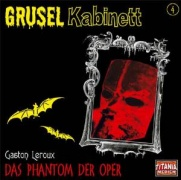 CD PHANTOM DER OPER - Audio Book of Gaston Leroux\'s Novel in German