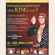 Poster KING AND I - Original Vienna Production 2006