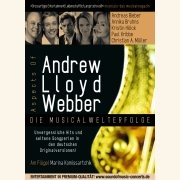 Poster ASPECTS OF ANDREW LLOYD WEBBER \(Konzert: Bad Hamm, 15.11.2009\)