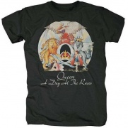 T-Shirt QUEEN - A Day At The Races \(L\)